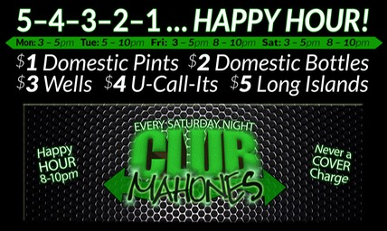 5-4-3-2-1 Happy Hour